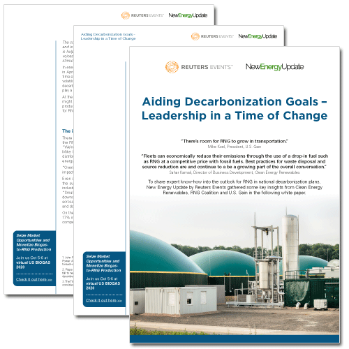 Whitepaper - Aiding decarbonization goals: leadership in a time of change