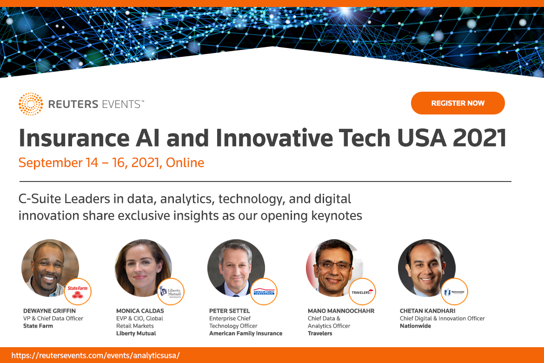 Reuters: Insurance AI and Innovative Tech USA 2021