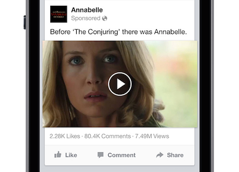 Facebook Video Ads Autoplay