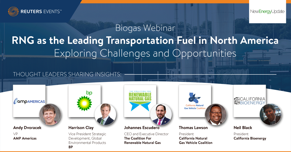 RNG as the Leading Transportation Fuel in North America - Exploring Challenges and Opportunities