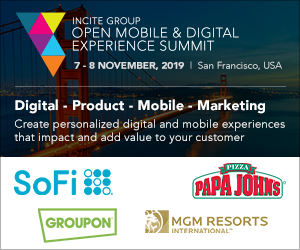 Open Mobile & Digital Experience Summit - 7-8th November, 2019 - San Francisco, CA
